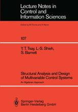 Structural Analysis and Design of Multivariable Control Systems