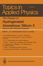 The Physics of Hydrogenated Amorphous Silicon II