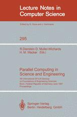 Parallel Computing in Science and Engineering