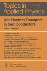 Hot-Electron Transport in Semiconductors