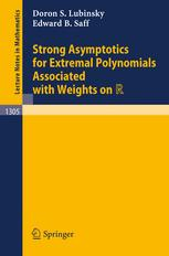 Strong Asymptotics for Extremal Polynomials Associated with Weights on ℝ