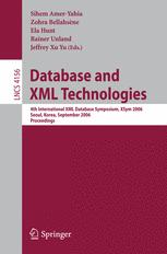 Database and XML Technologies