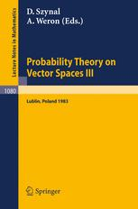 Probability Theory on Vector Spaces III