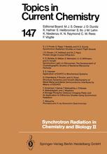 Synchrotron Radiation in Chemistry and Biology II
