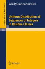 Uniform Distribution of Sequences of Integers in Residue Classes