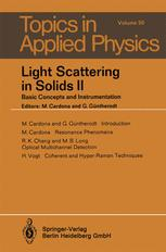 Light Scattering in Solids II