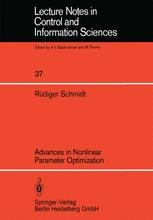 Advances in Nonlinear Parameter Optimization