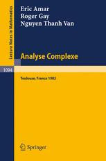 Analyse Complexe