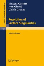 Resolution of Surface Singularities