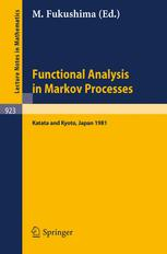 Functional Analysis in Markov Processes