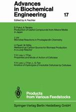 Advances in Biochemical Engineering, Volume 17