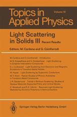 Light Scattering in Solids III