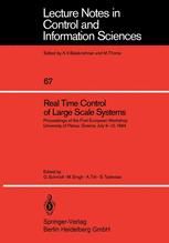 Real Time Control of Large Scale Systems