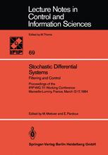 Stochastic Differential Systems Filtering and Control