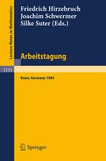 Arbeitstagung Bonn 1984