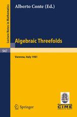Algebraic Threefolds