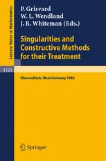 Singularities and Constructive Methods for Their Treatment