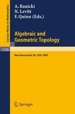 Algebraic and Geometric Topology