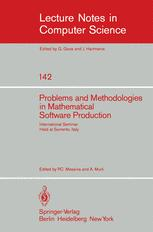 Problems and Methodologies in Mathematical Software Production