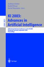 KI 2003: Advances in Artificial Intelligence