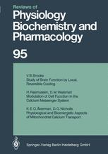 Reviews of Physiology, Biochemistry and Pharmacology, Volume 95