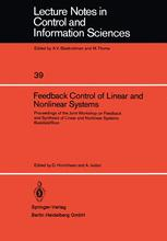 Feedback Control of Linear and Nonlinear Systems