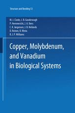 Copper, Molybdenum, and Vanadium in Biological Systems