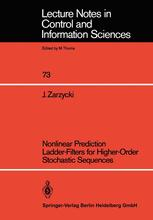 Nonlinear Prediction Ladder-Filters for Higher-Order Stochastic Sequences