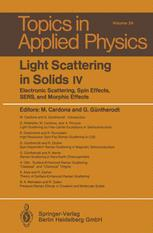 Light Scattering in Solids IV