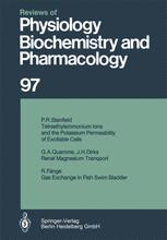 Reviews of Physiology, Biochemistry and Pharmacology, Volume 97