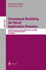 Conceptual Modeling for Novel Application Domains