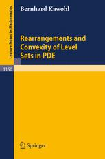 Rearrangements and Convexity of Level Sets in PDE