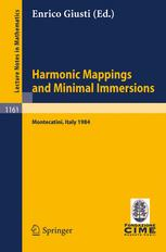 Harmonic Mappings and Minimal Immersions