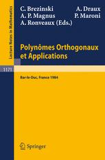 Polynômes Orthogonaux et Applications