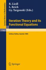 Iteration Theory and its Functional Equations