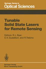 Tunable Solid State Lasers for Remote Sensing