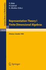 Representation Theory I Finite Dimensional Algebras