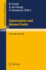 Optimization and Related Fields