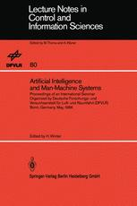 Artificial Intelligence and Man-Machine Systems