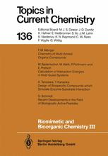 Biomimetic and Bioorganic Chemistry III
