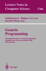 Generic Programming