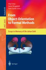 From Object-Orientation to Formal Methods