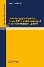 Calderón-Zygmund Operators, Pseudo-Differential Operators and the Cauchy Integral of Calderón