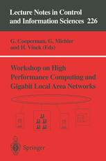 Workshop on High Performance Computing and Gigabit Local Area Networks