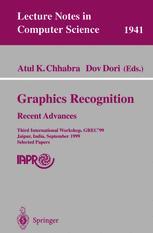 Graphics Recognition Recent Advances