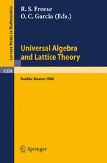 Universal Algebra and Lattice Theory