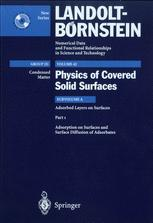 Adsorbed Layers on Surfaces. Part 1: Adsorption on Surfaces and Surface Diffusion of Adsorbates