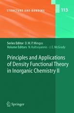 Principles and Applications of Density Functional Theory in Inorganic Chemistry II