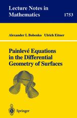 Painlevé Equations in the Differential Geometry of Surfaces