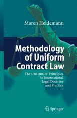 Methodology of Uniform Contract Law